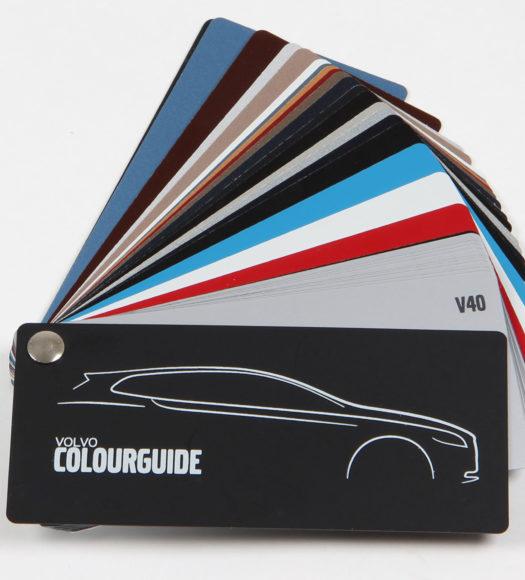 Volvo color guide